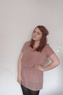 Coral-monki-dress-black-primark-cardigan-light-brown-primark-belt