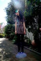 black briarwood boots - purple dress
