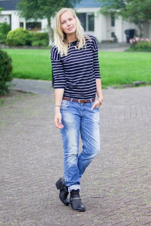 H&M boots - LTB jeans - Yesstyle shirt