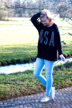 Yesstyle shoes - Lidl jeans - Yesstyle sweater
