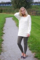 Yesstyle sweater - H&M leggings - Yesstyle loafers