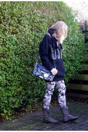 Pekoe bag - mjus boots - Yesstyle sweater - Lovelywholesale leggings
