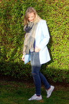 WE fashion jeans - tidebuy blazer - Choies shirt - Yesstyle scarf
