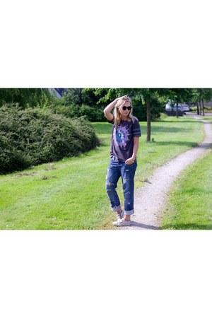 Lovelywholesale shirt - diy LTB jeans - Lovelywholesale sunglasses