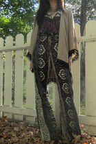 kimono 1 Vintage Soul cardigan - Novella Royale jumper