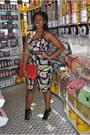 Thrifted-purse-scene-heels-tobi-top-tobi-skirt