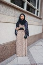 Poplookcom-dress-polka-dots-girlies-barn-blazer-suede-pull-bear-heels