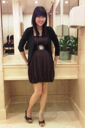 Bebe dress - random find - Charles & Keith shoes
