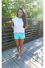 Aquamarine-charlotte-russe-shorts-ivory-h-m-top-black-forever-21-sandals
