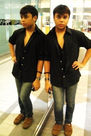 Topman shirt - Topman vest - Levis jeans - Zara shoes