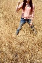 Studio M blouse - forever 21 jeans