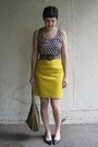 Tan-tignanello-bag-gold-thrifted-skirt-tan-and-black-thrifted-belt-black-j