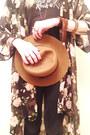 Black-cut-out-pacsun-boots-black-gap-jeans-bronze-gap-hat