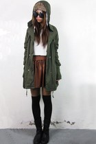 2amstyles jacket - 2amstyles hat - 2amstyles sunglasses - 2amstyles skirt
