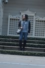 Black-suede-vince-camuto-boots-blue-zip-legging-ag-ariana-goldschmied-jeans