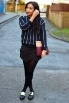 Zara bag - asos shoes - Zara skirt - Mango jumper - Michael Kors watch