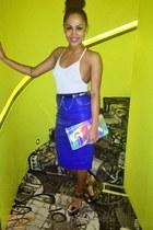 asos skirt - Topshop bag