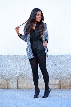 charcoal gray H&M jacket