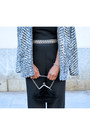 Charcoal-gray-h-m-jacket-black-promod-bodysuit