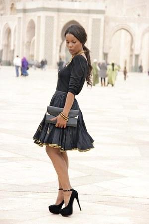 black YOKANA skirt