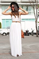 white Mango dress