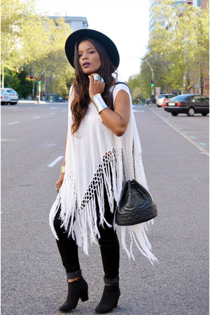 white DIY cape