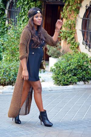 brown vintage cardigan