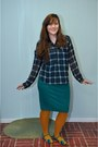 Navy-modcloth-shirt-mustard-h-m-stockings-teal-target-skirt