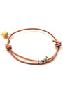 gold 3 Wind Knots bracelet