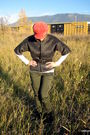 Jones-new-york-pants-vintage-jacket-liz-claiborne-hat-steve-madden-boots