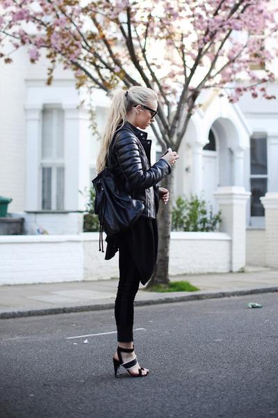 black Sigerson Morrison shoes - black Shadow Fox Stone dress