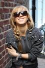 Gray-ashish-sweater-black-gucci-sunglasses-brown