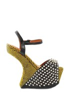 Jeffrey Campbell Vicious-Ex In Black/Yellow