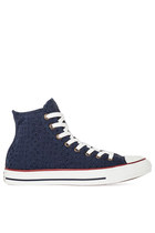 Converse Chuck Taylor All Star in Navy Eyelet