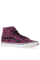 The Sk8-Hi Slim in Ditsy Floral Black