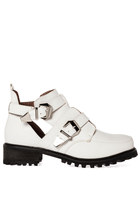 6'7 Addition Channing Boots - White (5.5-7)