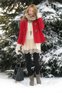 Red-coat-tan-laced-up-boots-ivory-lace-dress-primark-dress-black-tights