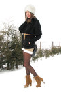 Laced-up-primark-boots-faux-fur-hat-cubus-sweater-shearling-diy-vintage-