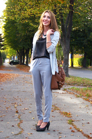 periwinkle denim co primark blazer - burnt orange Primark bag