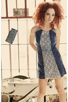 navy holiday 8000 nerves dress