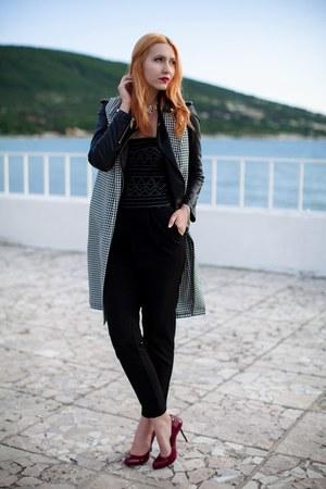 black asos blazer