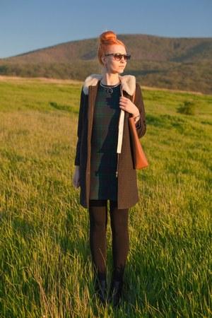 army green Stradivarius dress