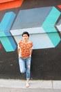 Light-blue-boyfriend-forever-21-jeans-chiffon-forever-21-top