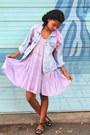 Light-purple-cotton-vintage-fairy-dress-dress