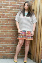 Rock & Republic sweater - Forever 21 dress - Urban Outfitters heels
