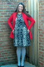 Target-dress-red-francescas-sweater-heather-gray-forever-21-tights