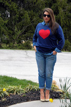 navy Old Navy sweater - blue Old Navy jeans - blue Old Navy shirt