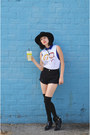 Light-orange-shorts-that-glamour-shorts-mustard-society6-top