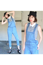 overalls obey romper