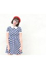 Dress-bird-on-a-wire-dress-bowler-nasty-gal-hat-sandals-forever-21-sandals
